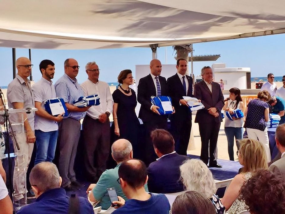 La Fossa Beach Celebrates 30 Years Having A Blue Flag