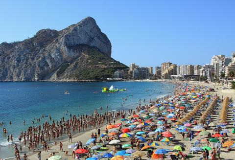 The Summer Season Has Started For Calp's Beaches