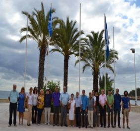 Calp Commemorates 30 Years Of Blue Flag In la Fossa Beach