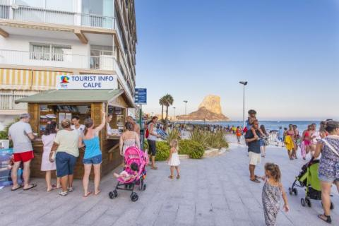 Tourist Occupation In Calp Increases 6% In 2017