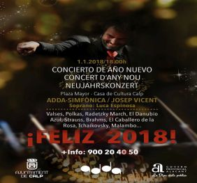 Calp Prepares A Great New Year Concert By The Adda Simfònica