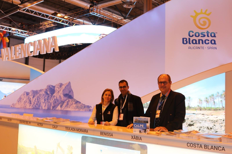 Calp Will Be Represented Until Sunday At The International Tourism Fair (fitur).