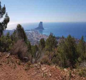 Calpe Receives A Grant To Set Up A Mountain Bike Route.