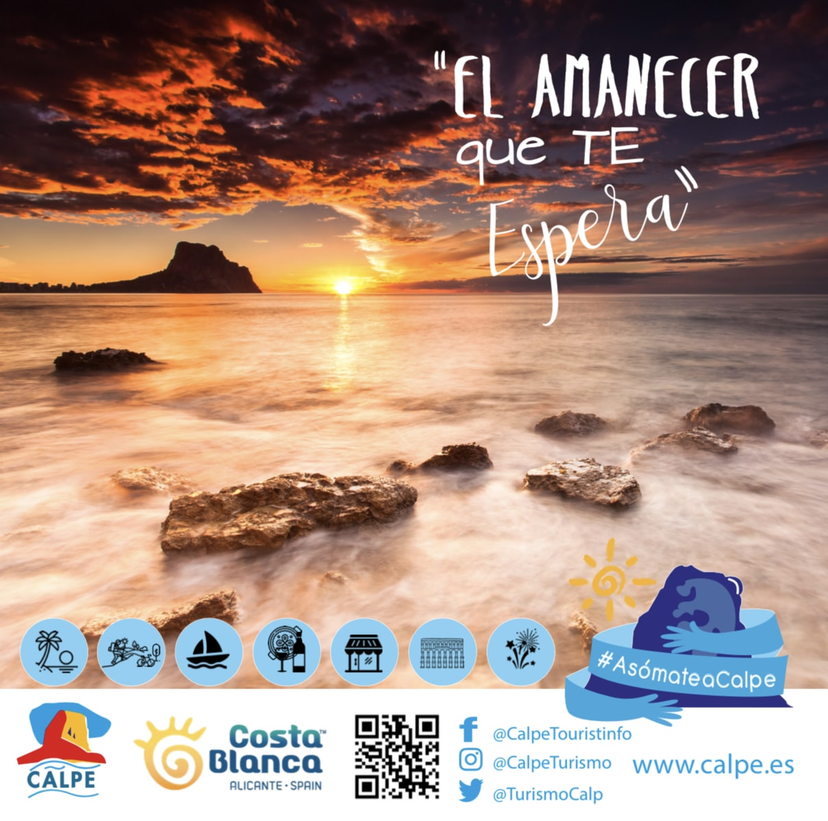 The City Council is launching a campaign in social network to attract tourism and asks the citizens of Calp to act as Influencers