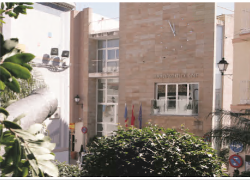 Calp town hall reports on the new measures taken in response to the declaration of a state of alarm by the coronavirus: