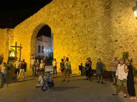 1200 personas han participado este verano en las visitas guiadas por el Casco Antiguo